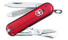 Victorinox Classic SD Red Transparent